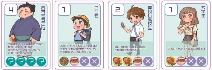 こなもんっ!_お客カード