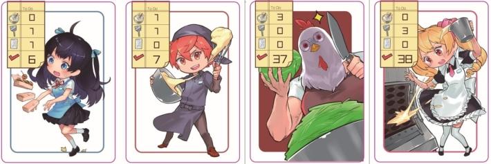 こなもんっ!_行動カード