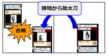 侍合戦カードバトル_助太刀説明