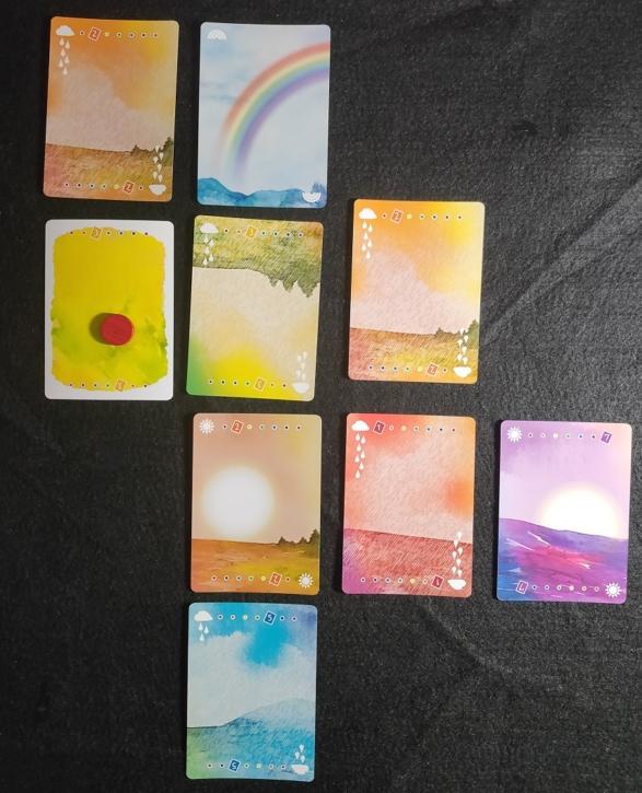 太陽と雨と虹_ウェザーライン
