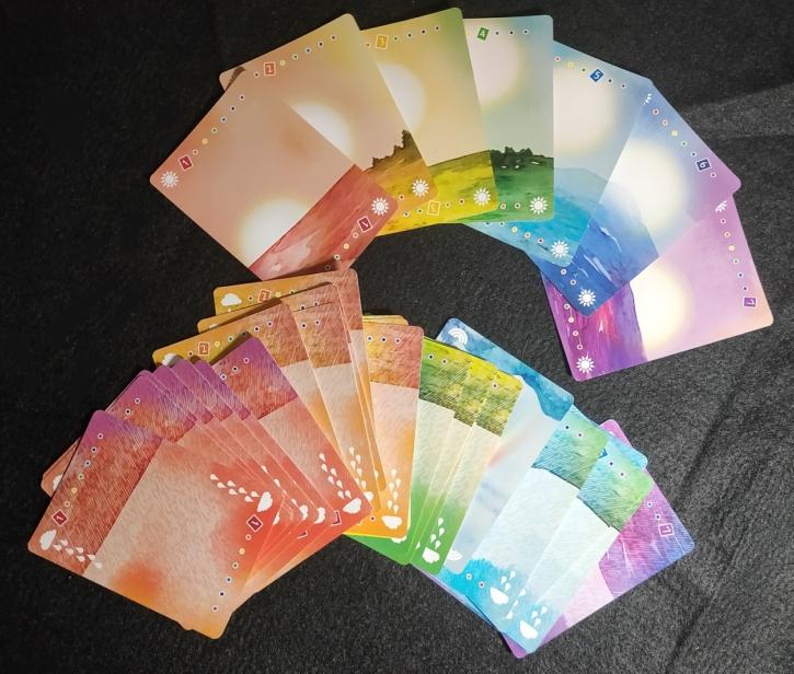 太陽と雨と虹_カード